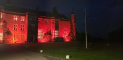 Slindon College building red for dyslexia