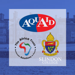 Slindon College, The Africa Trust and AquAid