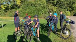 Slindon College mountain bikes inter-house sports event